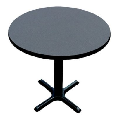 Black Granite Cafe Bar Table
