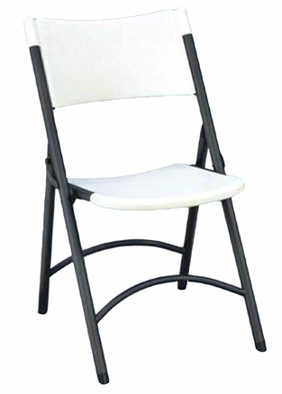 Correll RC400 23 Heavy Duty Plastic Folding Chair Gray Granite 4 Pack |  Correll Tables For Less