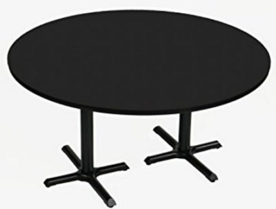 High Pressure Café and Breakroom Table Black Granite