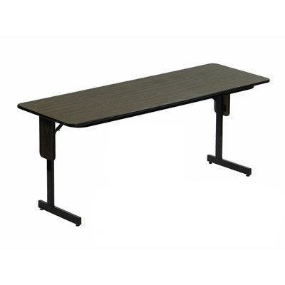 Correll SPPX High Pressure Laminate Panel Leg Folding Seminar - Conference room table height
